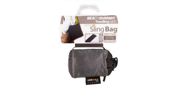 Sea to Summit Travelling Light Sling Bag grey/black
